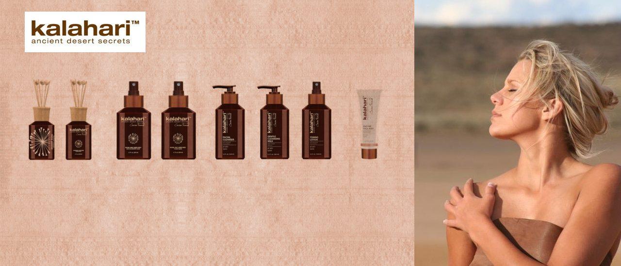 Kalahari – luonnonkosmetiikan tuotesarja